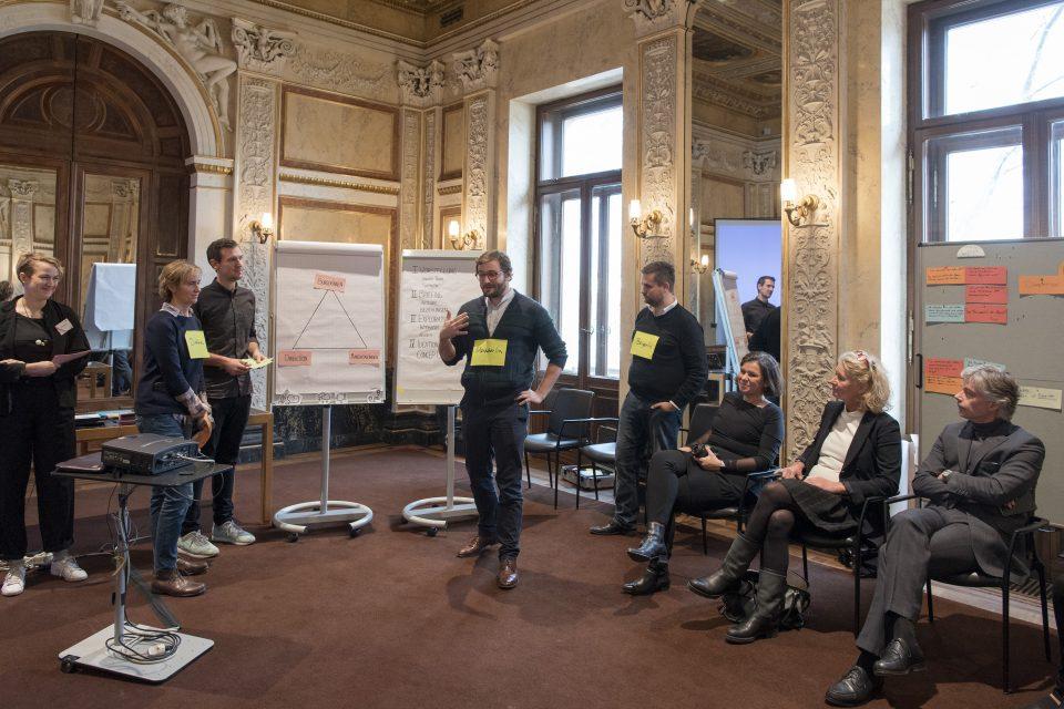 Workshop: 'Besucherzentrum neu' Service-Design – Präsentation der Ergebnisse